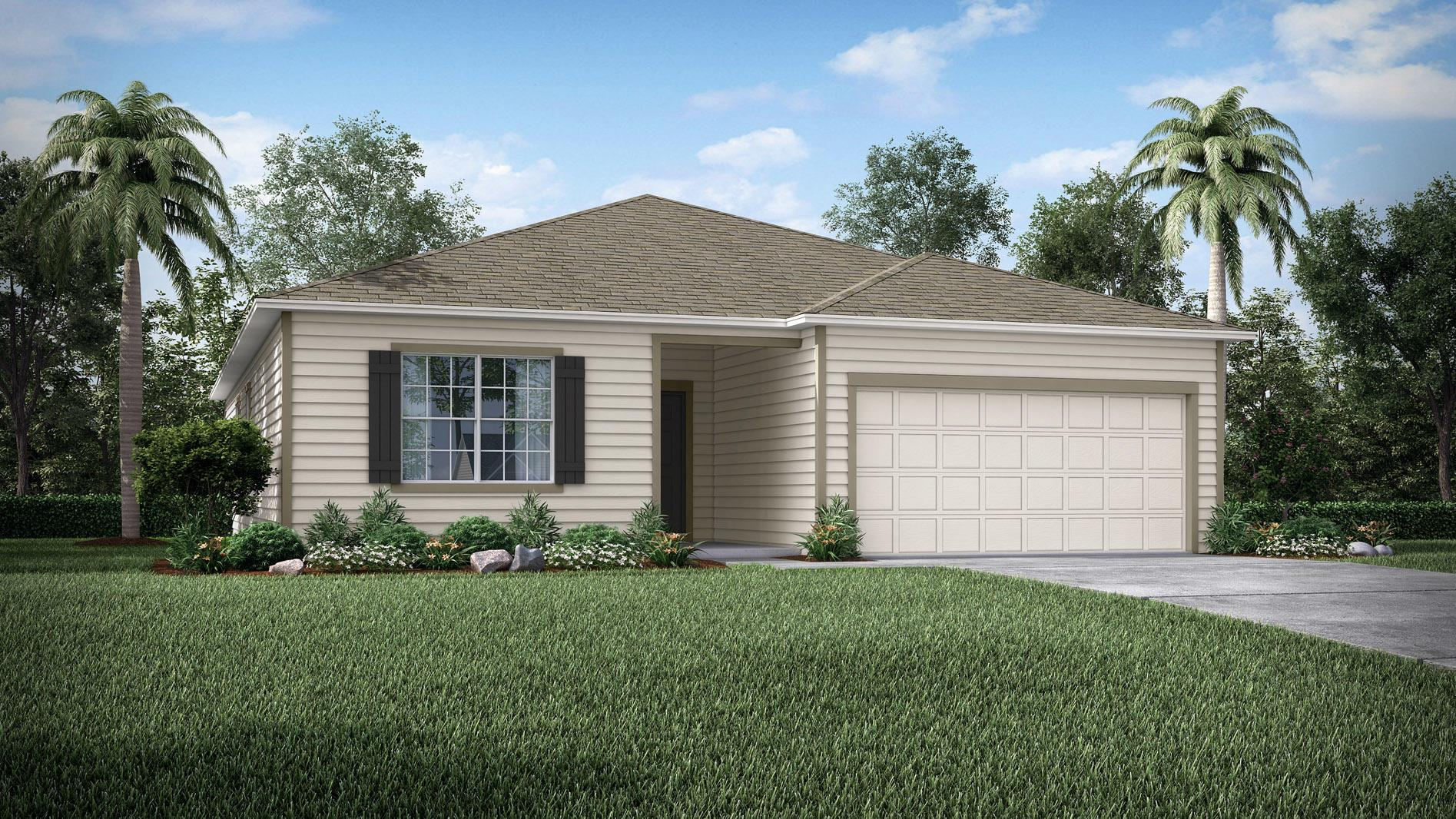 Exterior featured in the Arlington By Maronda Homes in Gainesville, FL