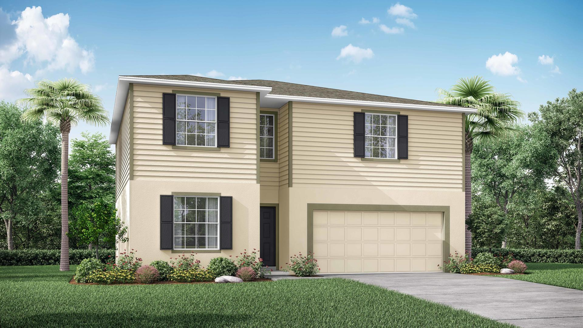 Exterior featured in the Sycamore By Maronda Homes in Tampa-St. Petersburg, FL