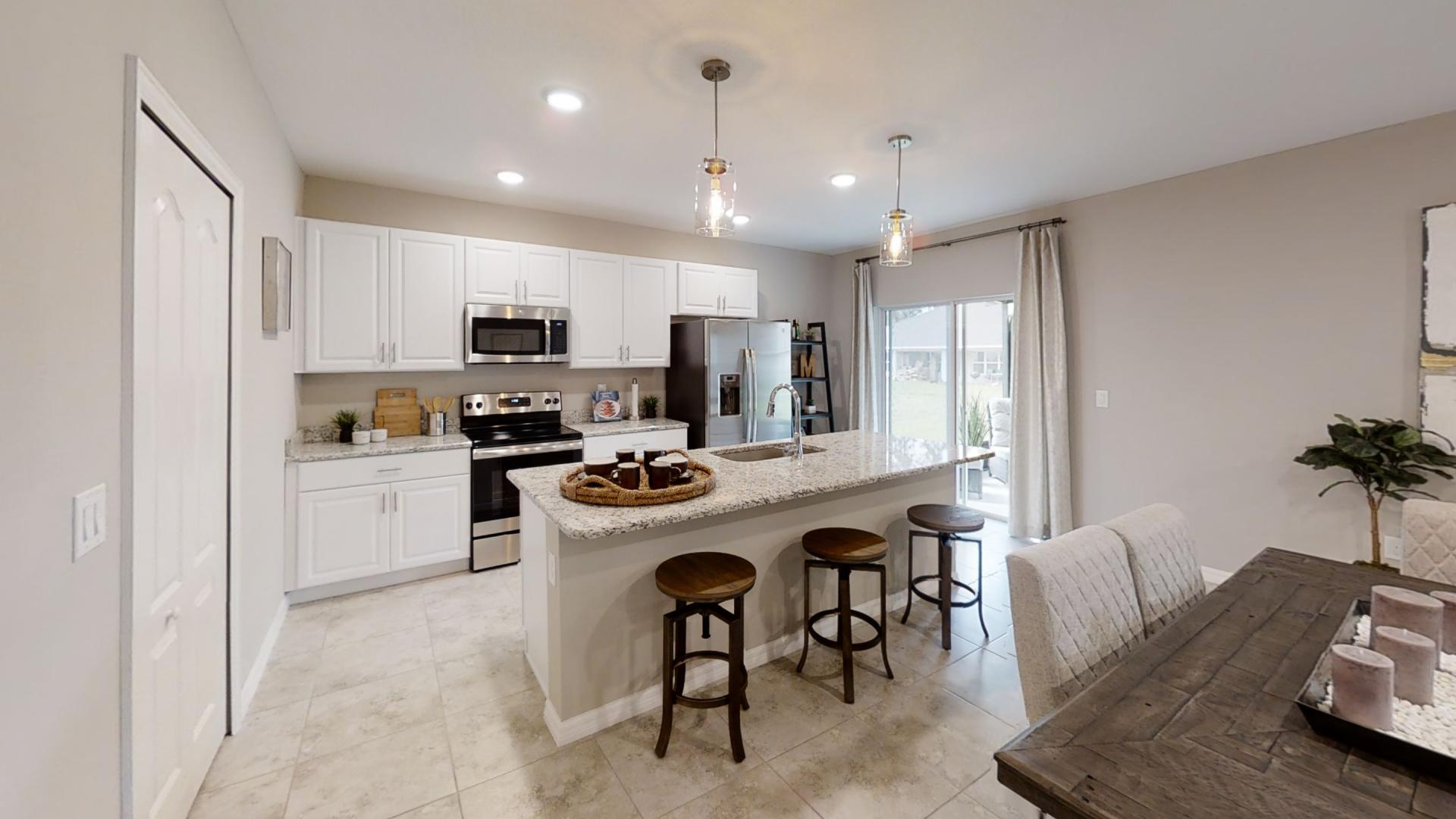 Kitchen featured in the Mesquite By Maronda Homes in Indian River County, FL