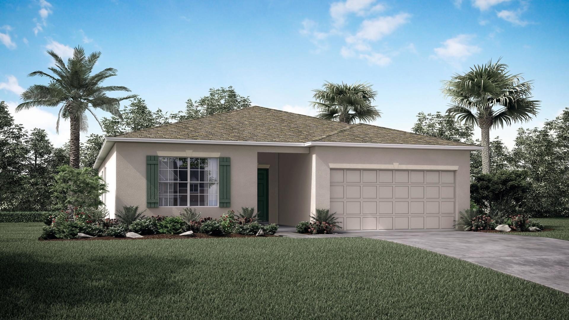 Exterior featured in the Maple By Maronda Homes in Martin-St. Lucie-Okeechobee Counties, FL