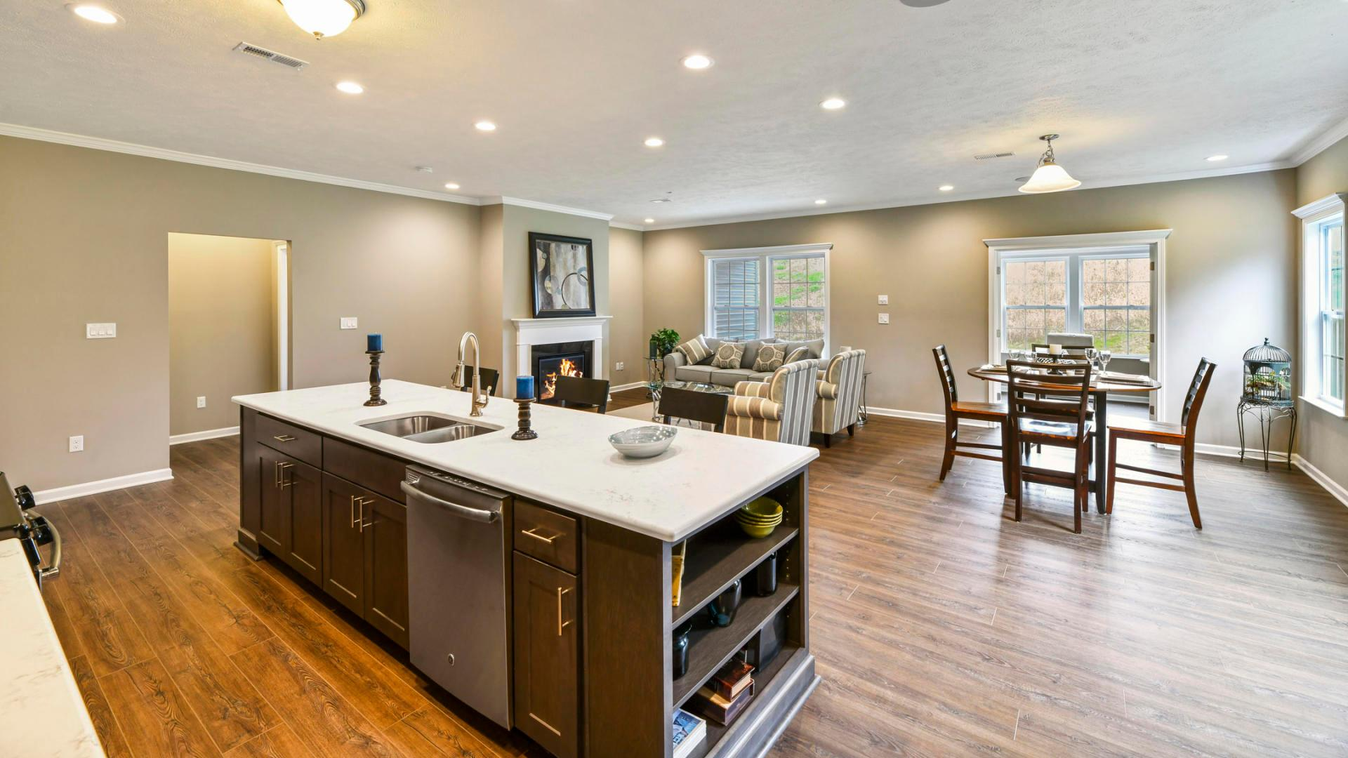 Living Area featured in the Drexel By Maronda Homes in Cincinnati, OH