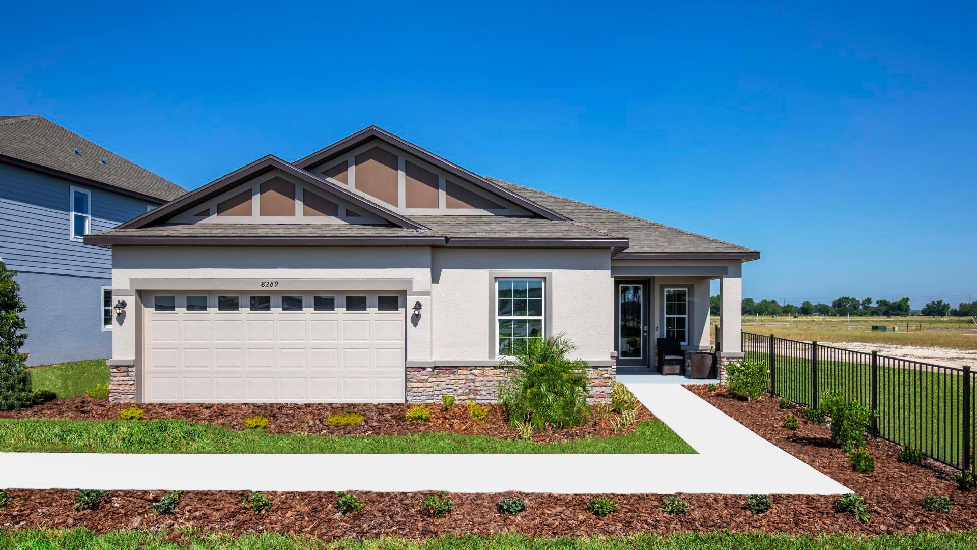 Exterior featured in the Ashton By Maronda Homes in Daytona Beach, FL