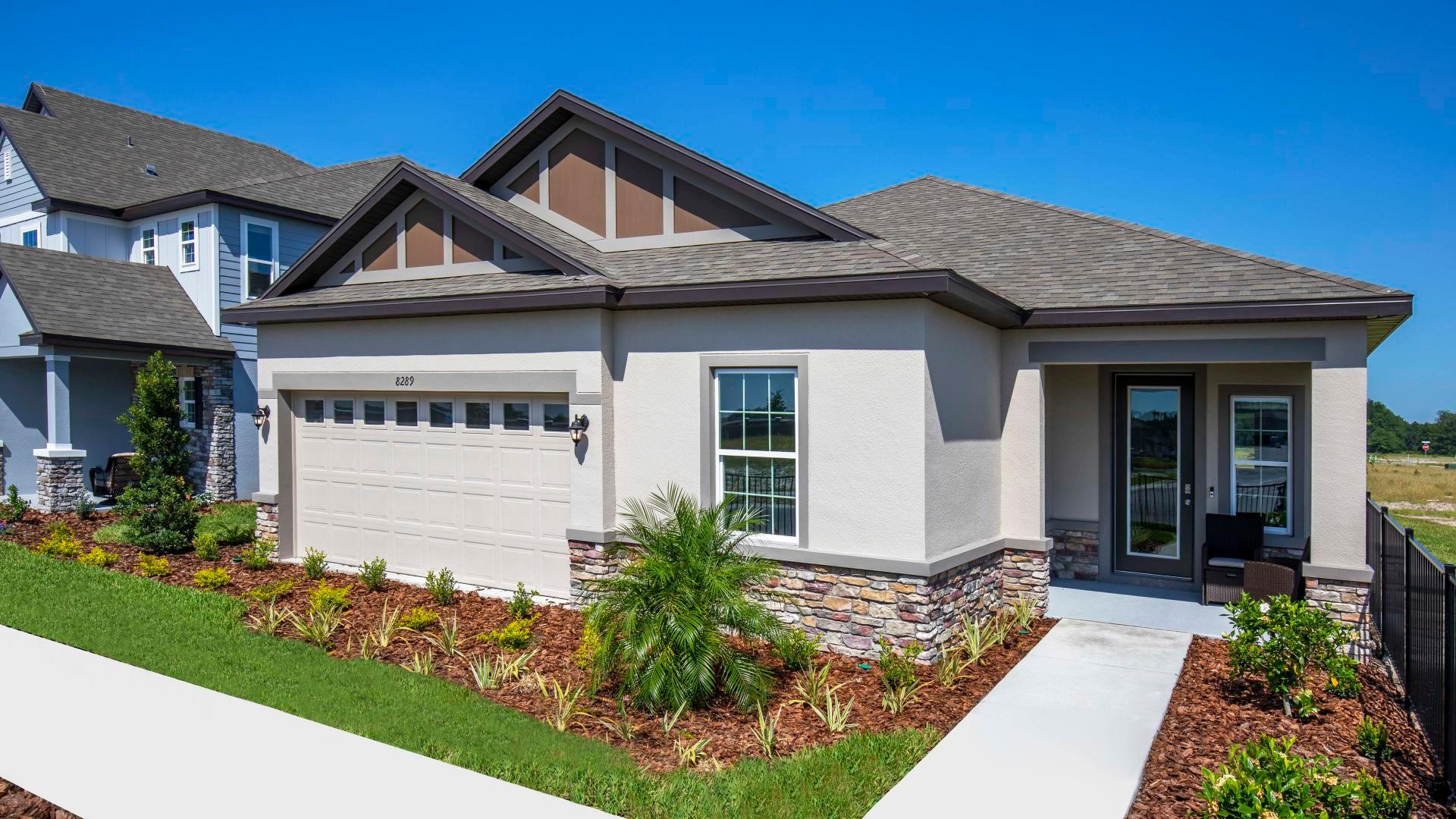 Exterior featured in the Ashton By Maronda Homes in Lakeland-Winter Haven, FL