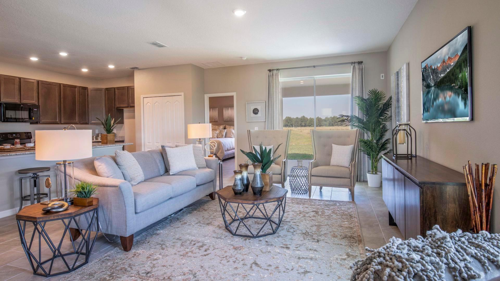 Living Area featured in the Ashton By Maronda Homes in Fort Myers, FL