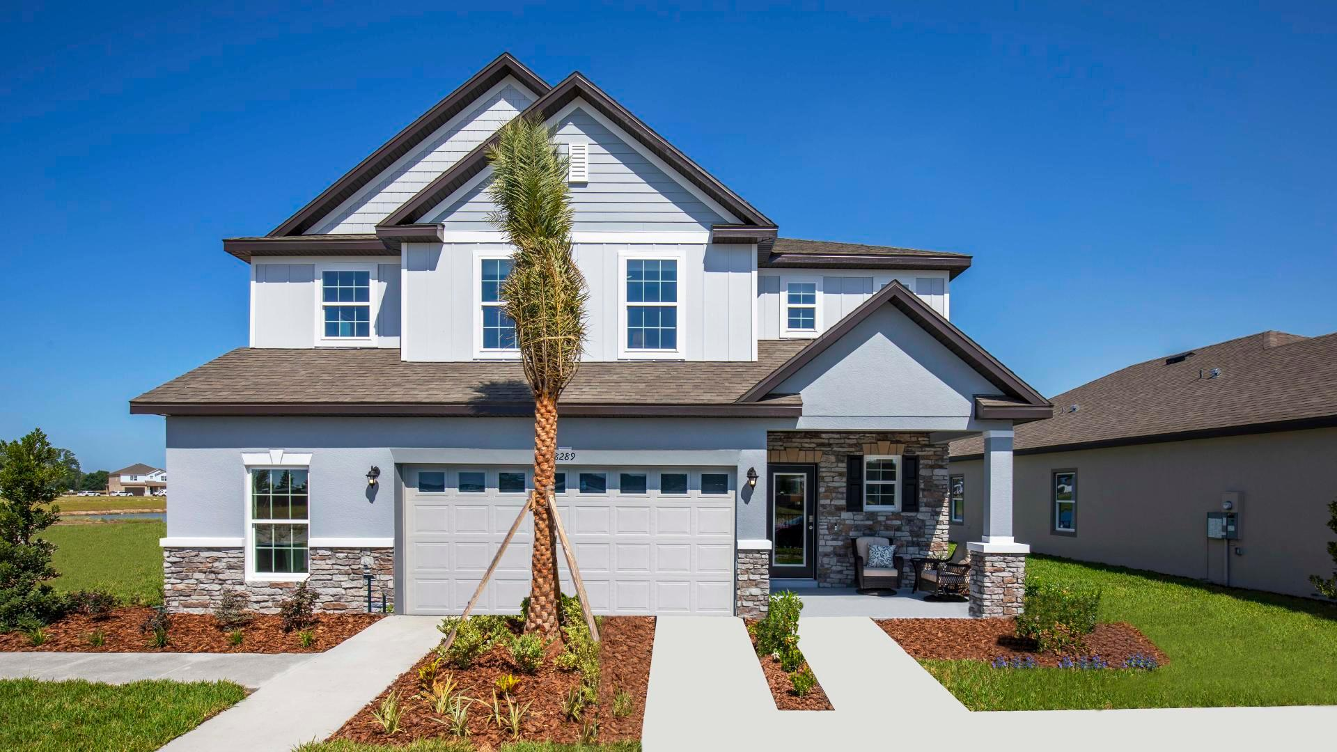 Exterior featured in the Columbus By Maronda Homes in Daytona Beach, FL