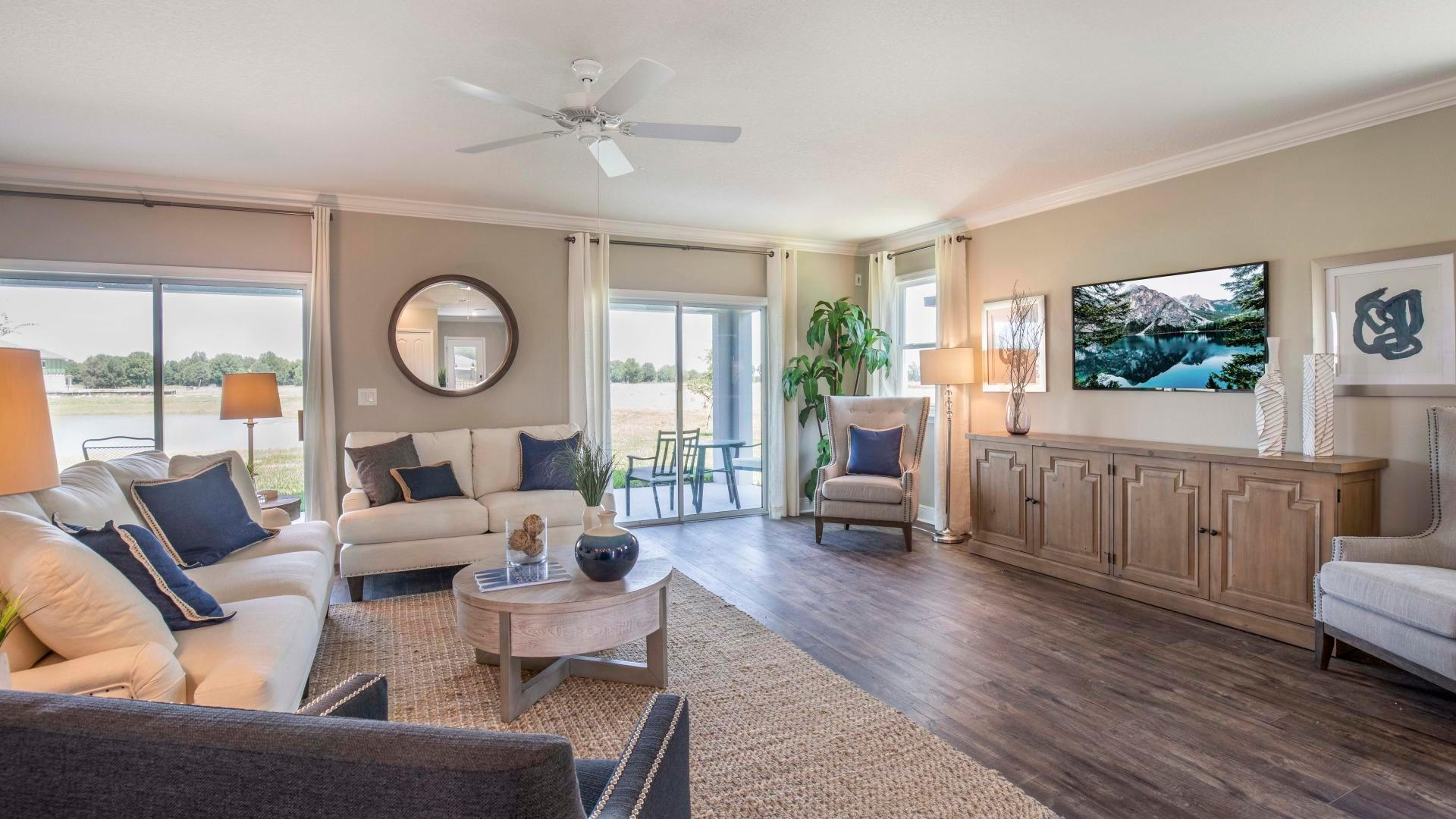 Living Area featured in the Columbus By Maronda Homes in Melbourne, FL