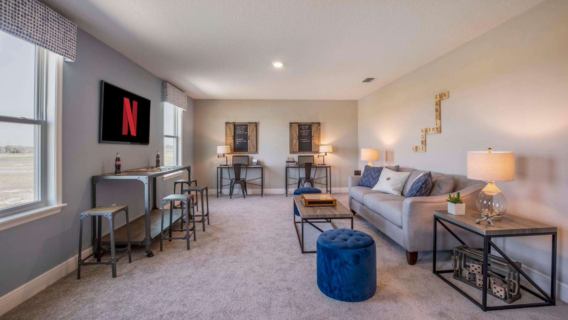 Living Area featured in the Columbus By Maronda Homes in Daytona Beach, FL