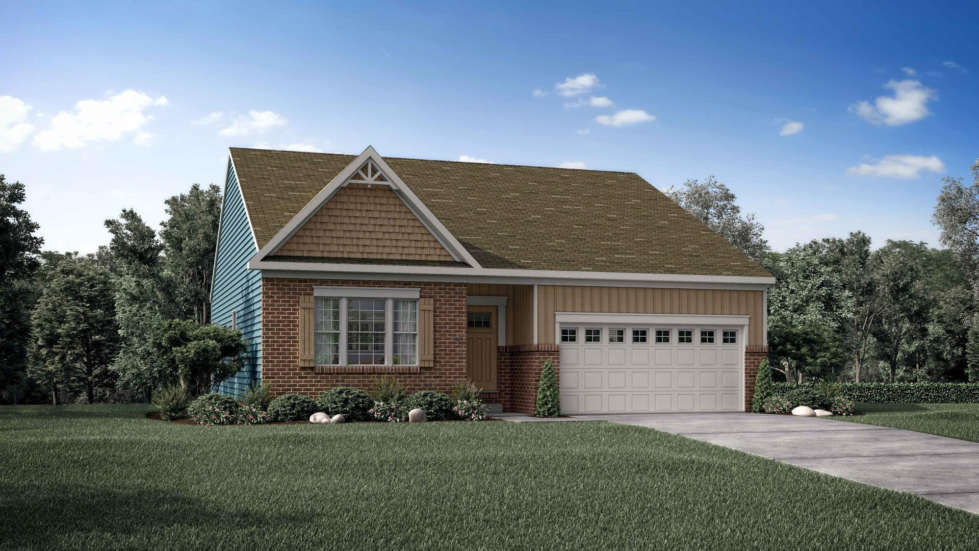 Exterior featured in the Avalon By Maronda Homes in Cincinnati, KY