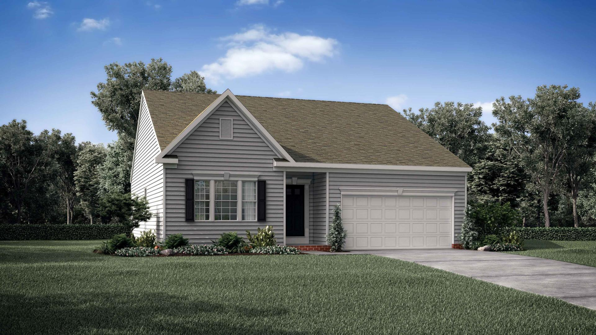Exterior featured in the Avalon By Maronda Homes in Columbus, OH