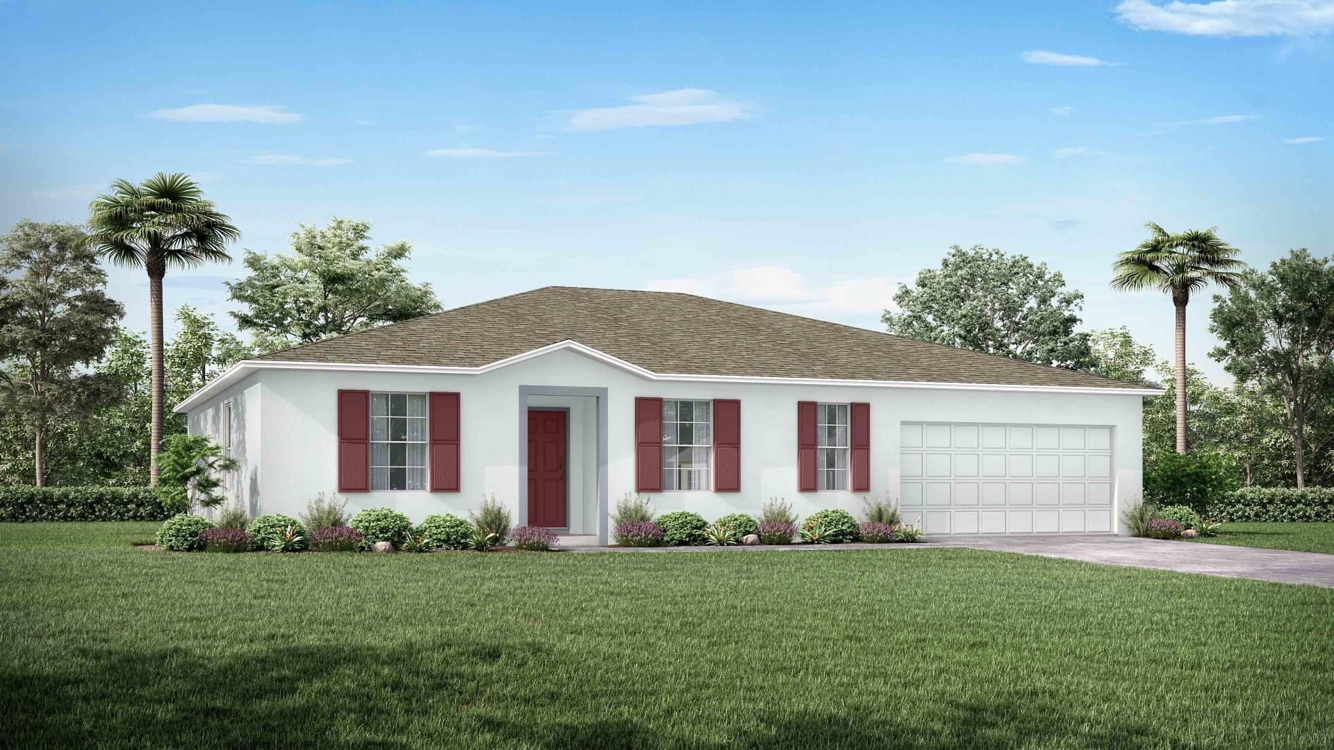Exterior featured in the Willow By Maronda Homes in Tampa-St. Petersburg, FL