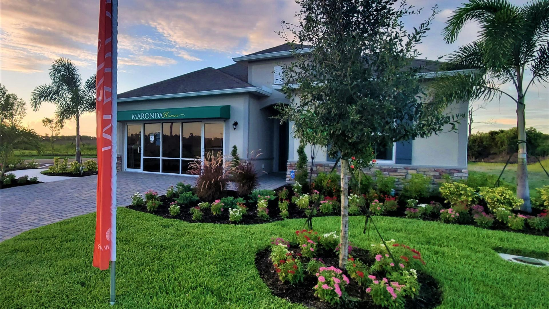Exterior featured in the Miramar By Maronda Homes in Fort Myers, FL