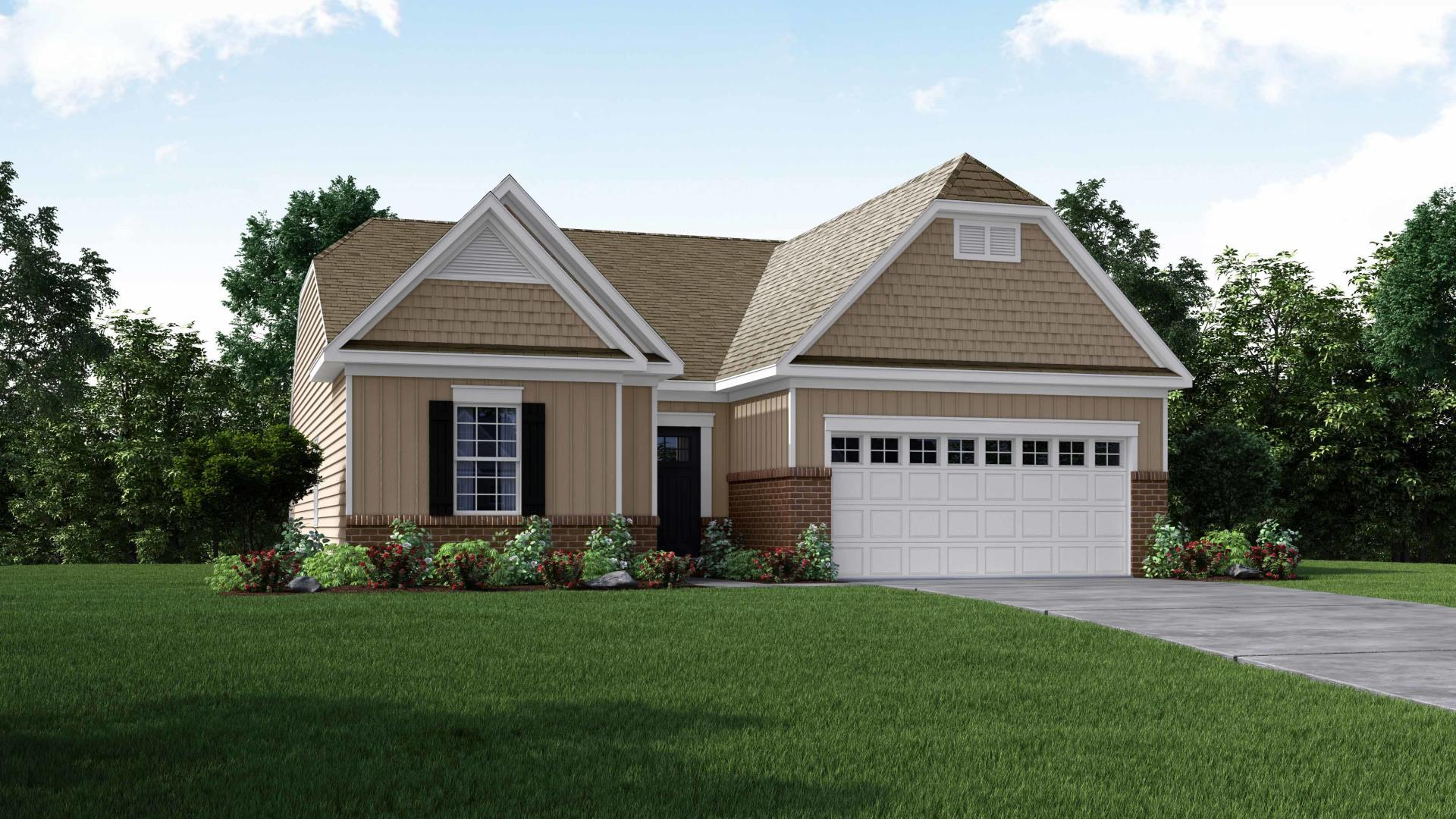 Exterior featured in the Sanibel By Maronda Homes in Columbus, OH