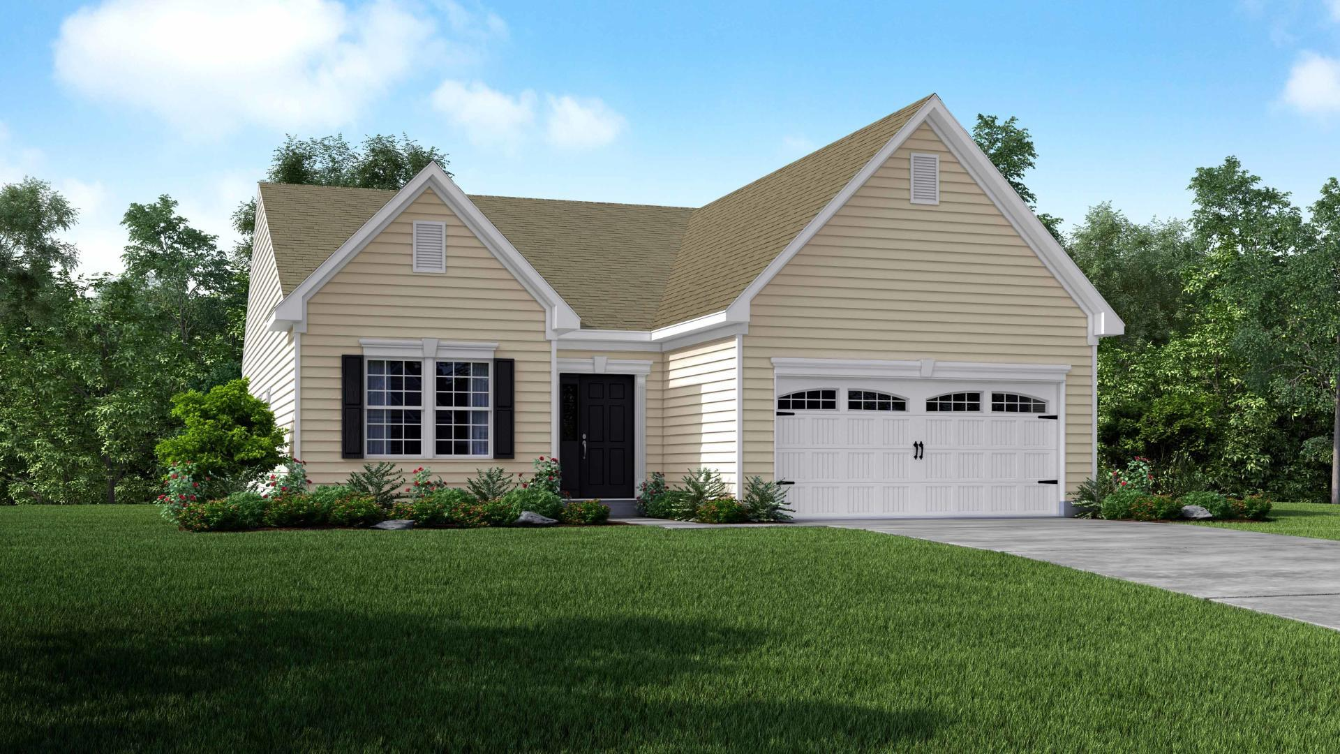Exterior featured in the Richmond By Maronda Homes in Columbus, OH