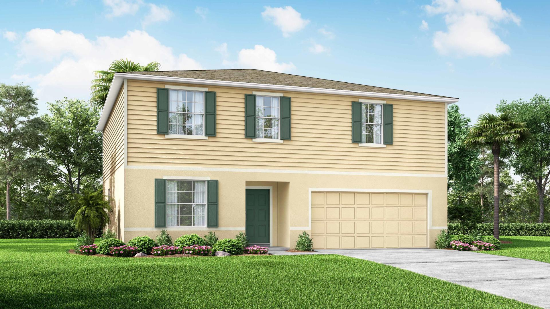 Exterior featured in the Sequoia By Maronda Homes in Tampa-St. Petersburg, FL