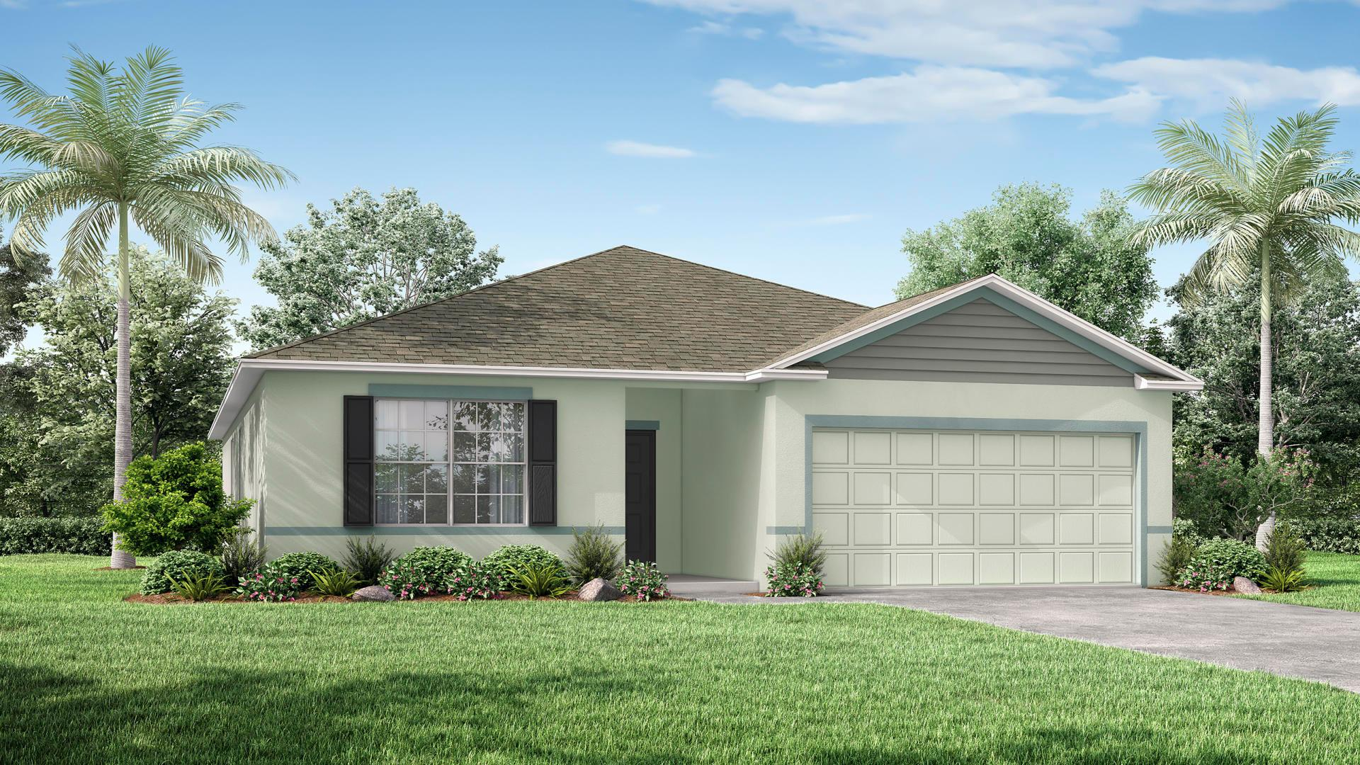 Exterior featured in the Maple By Maronda Homes in Daytona Beach, FL
