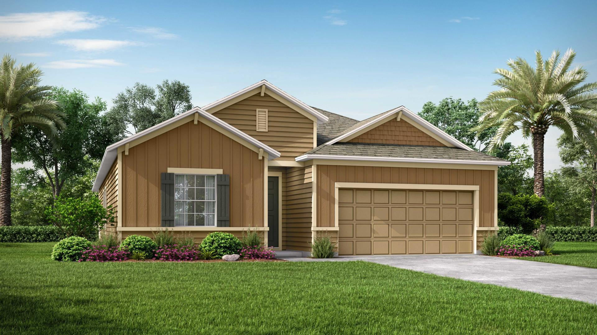 Exterior featured in the Miramar By Maronda Homes in Gainesville, FL