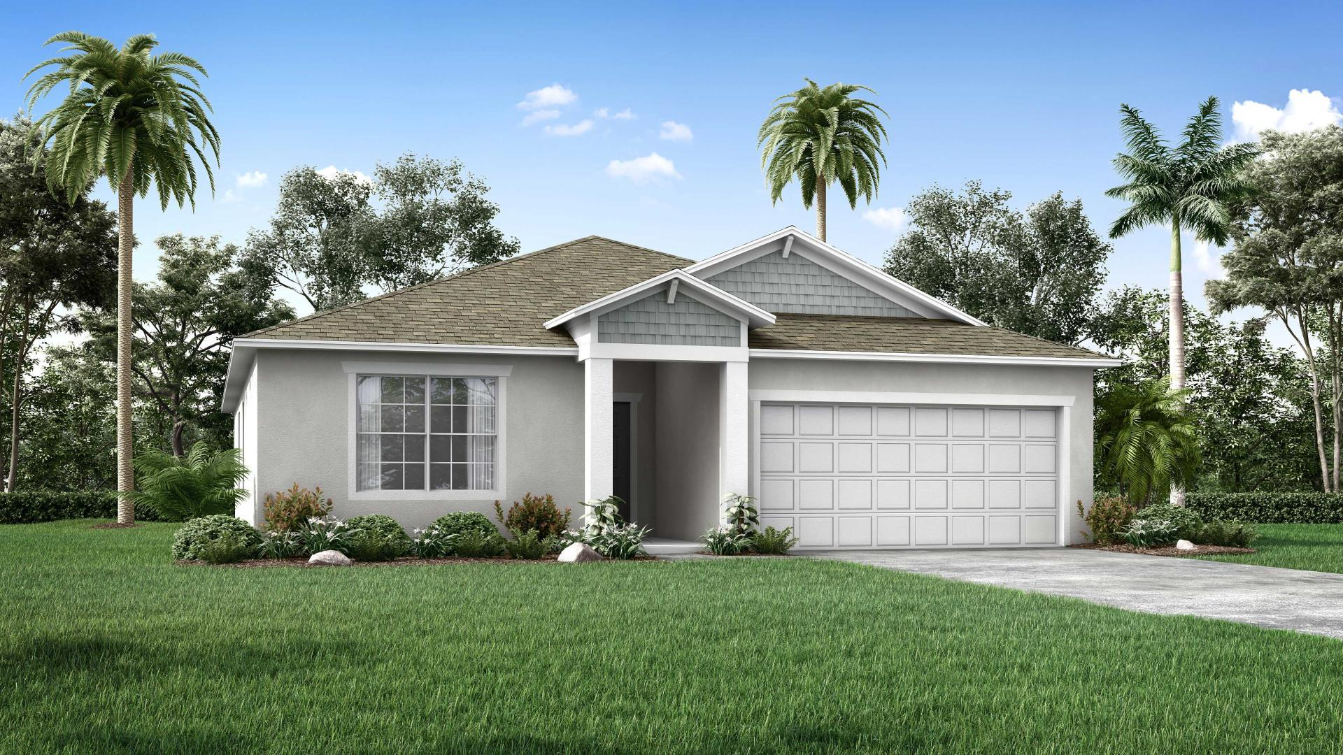 Exterior featured in the Maple By Maronda Homes in Melbourne, FL