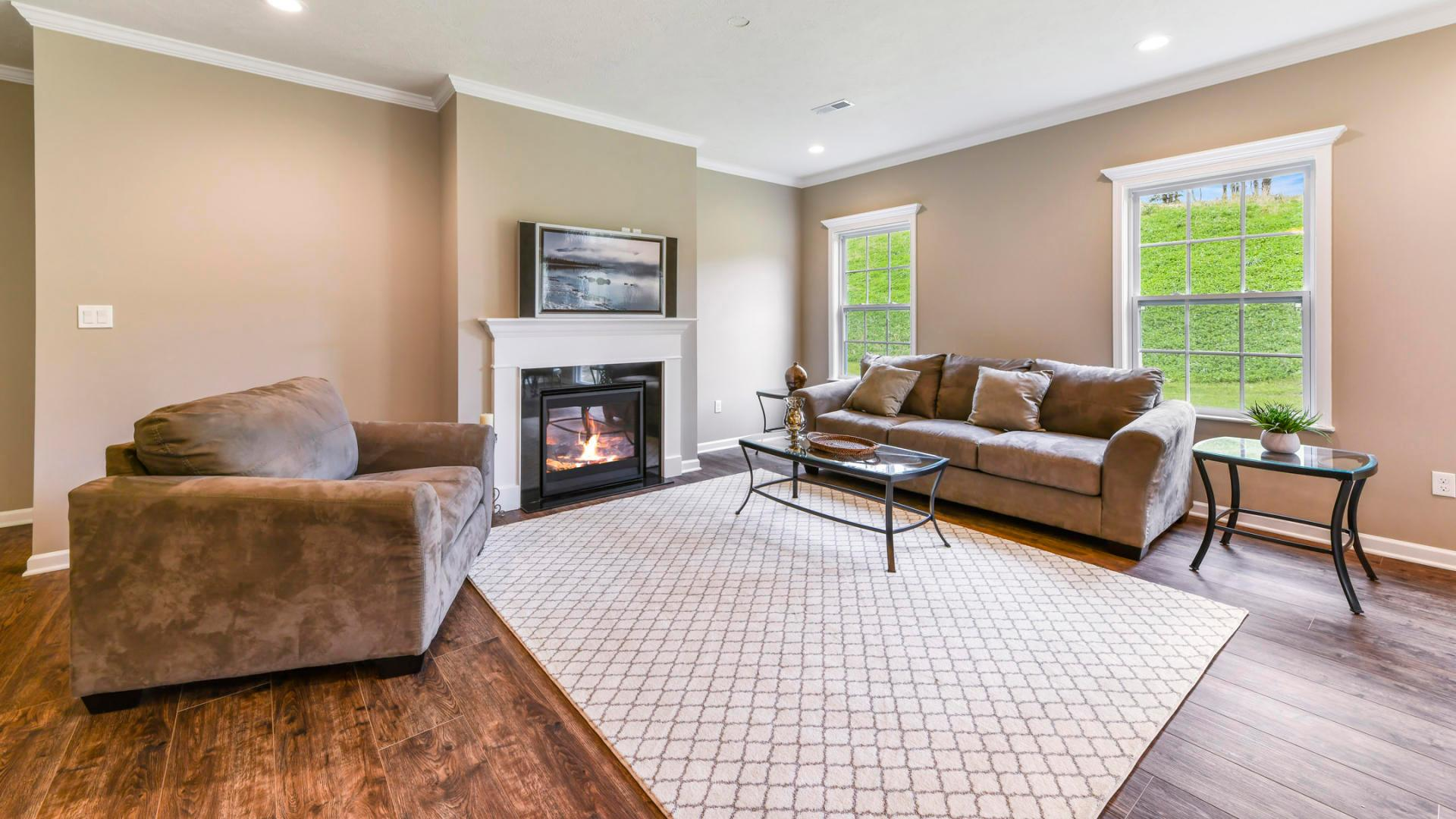 Living Area featured in the Sanibel By Maronda Homes in Columbus, OH