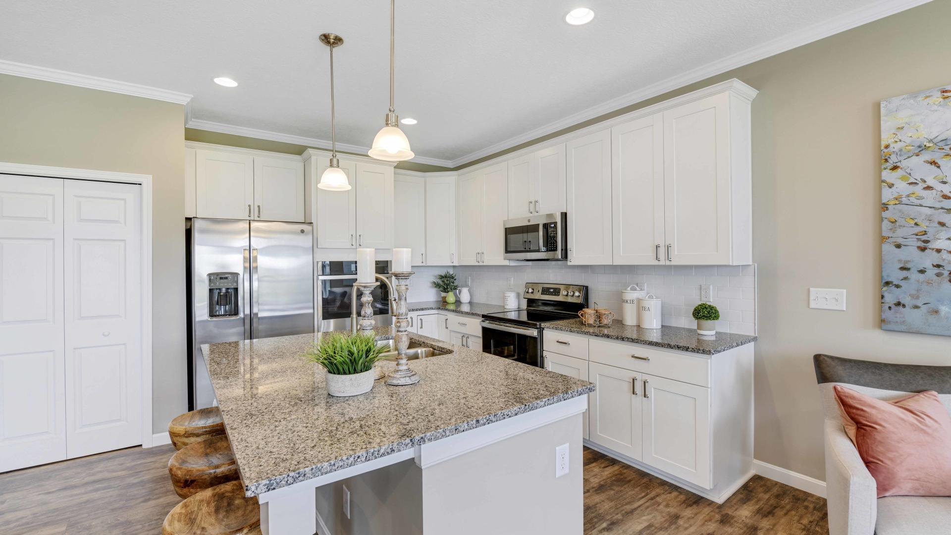 Kitchen featured in the Avalon By Maronda Homes in Columbus, OH
