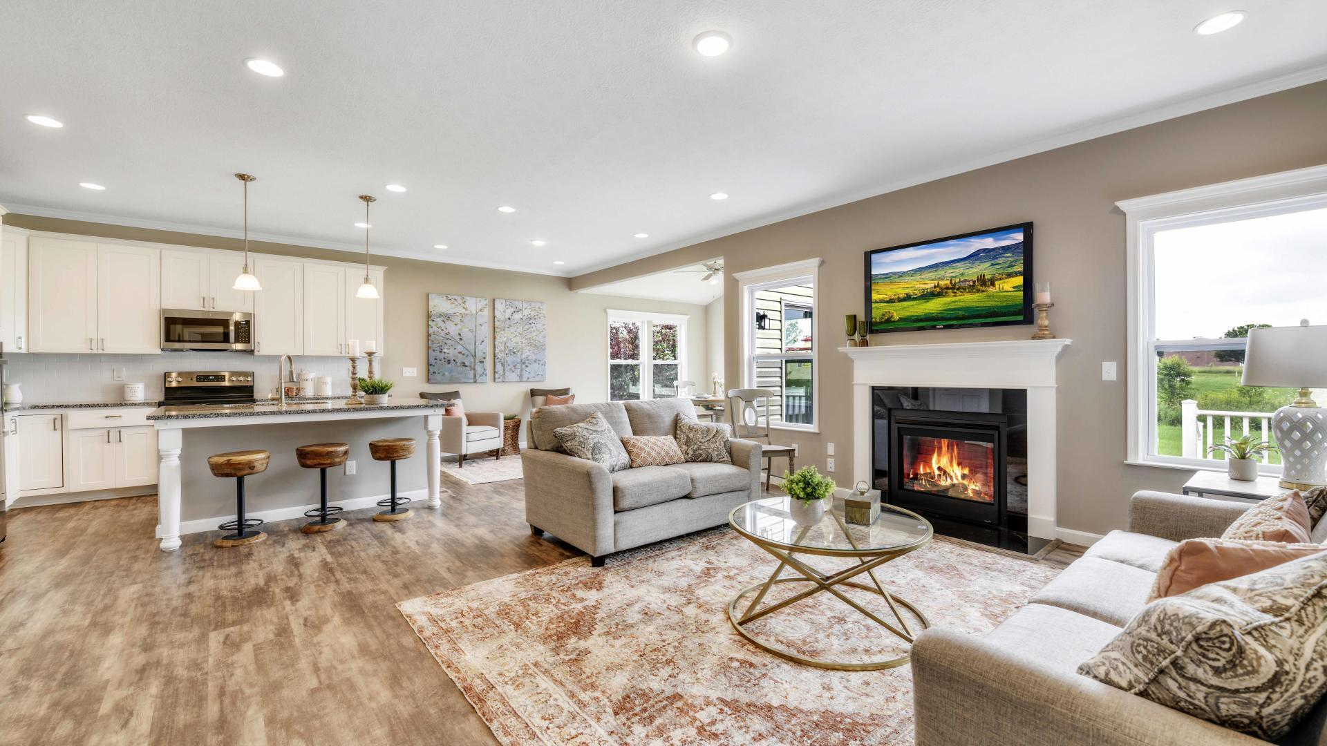 Living Area featured in the Avalon By Maronda Homes in Columbus, OH