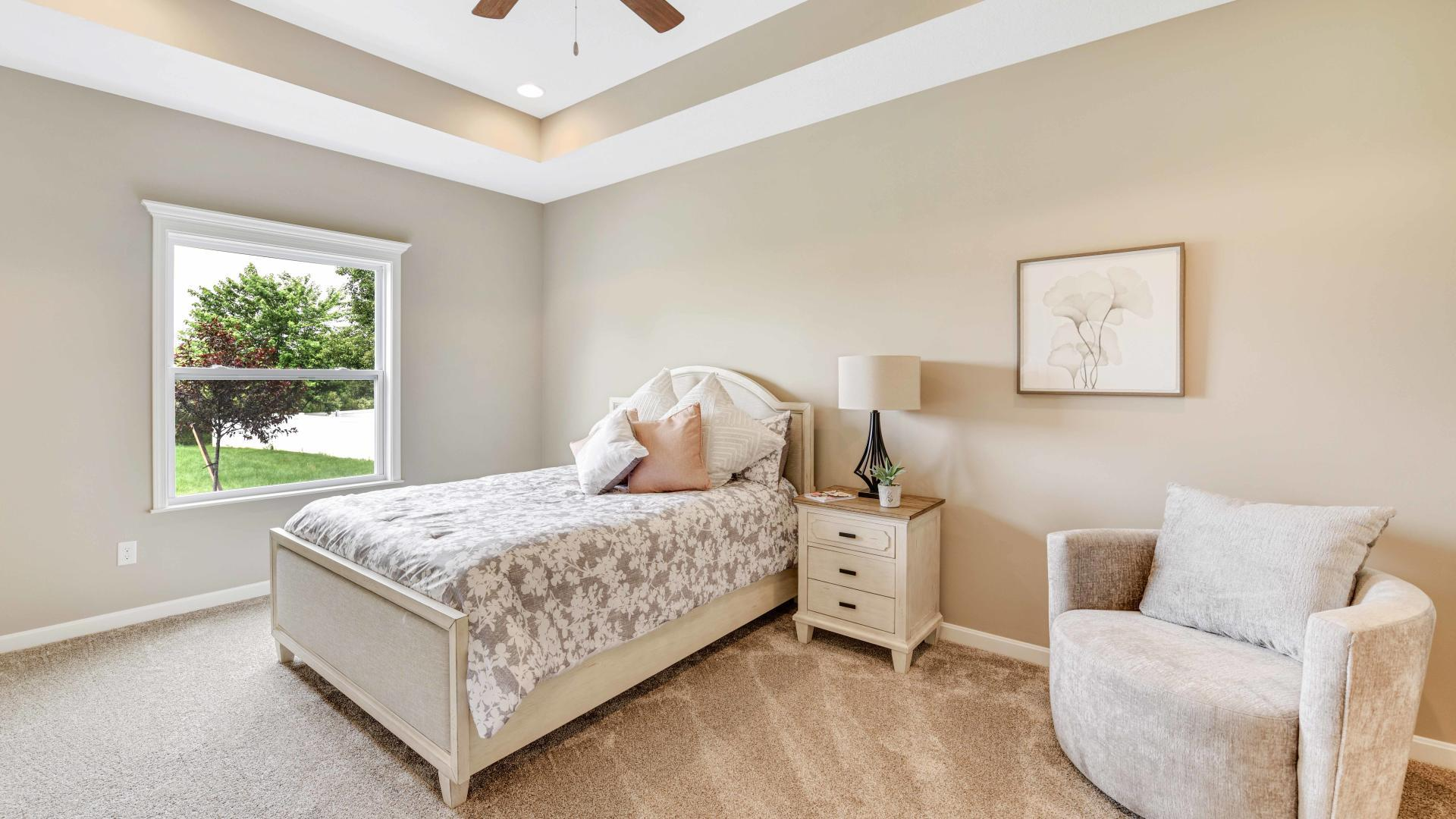 Bedroom featured in the Avalon By Maronda Homes in Columbus, OH