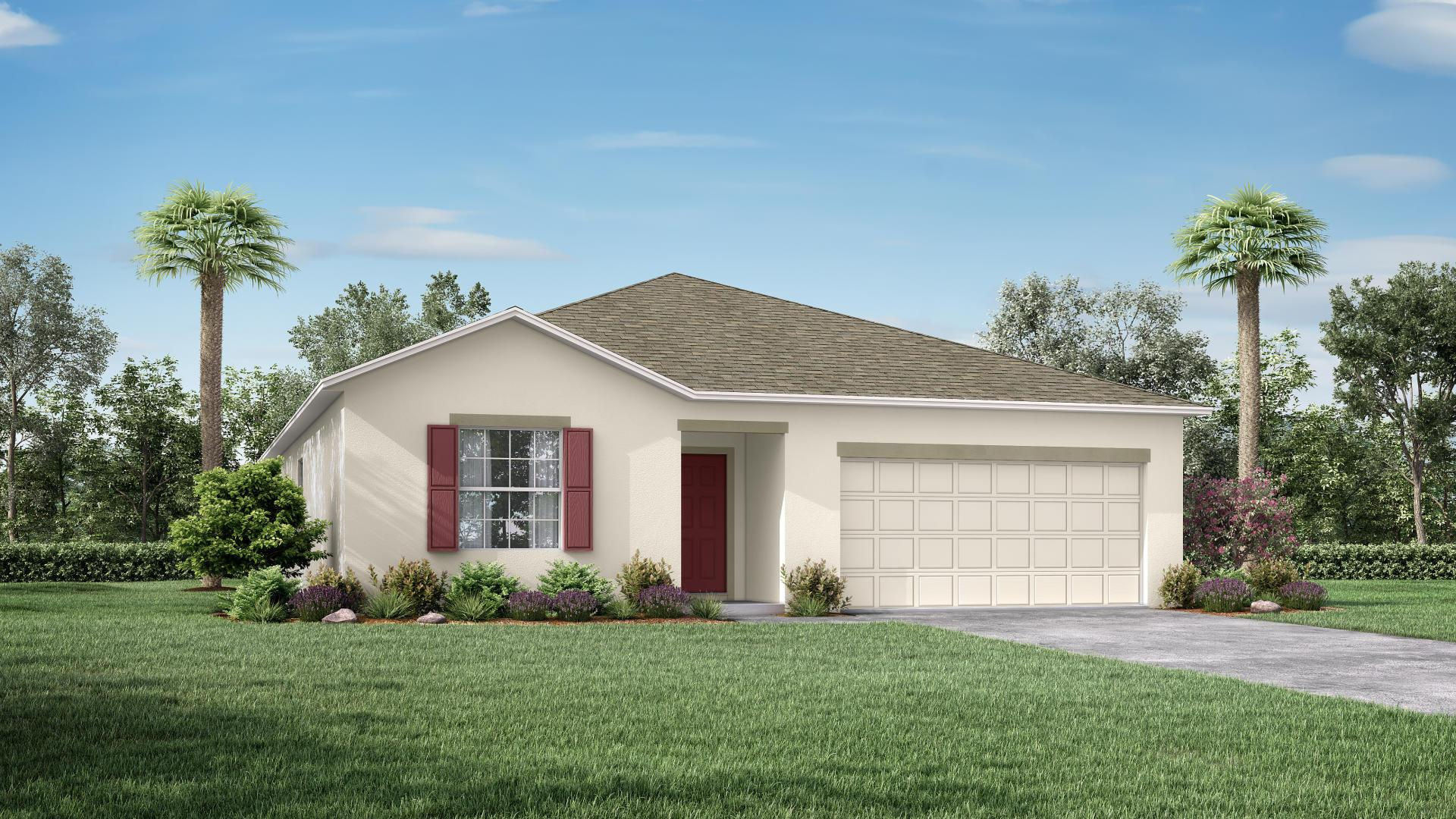 Exterior featured in the Avalon By Maronda Homes in Melbourne, FL