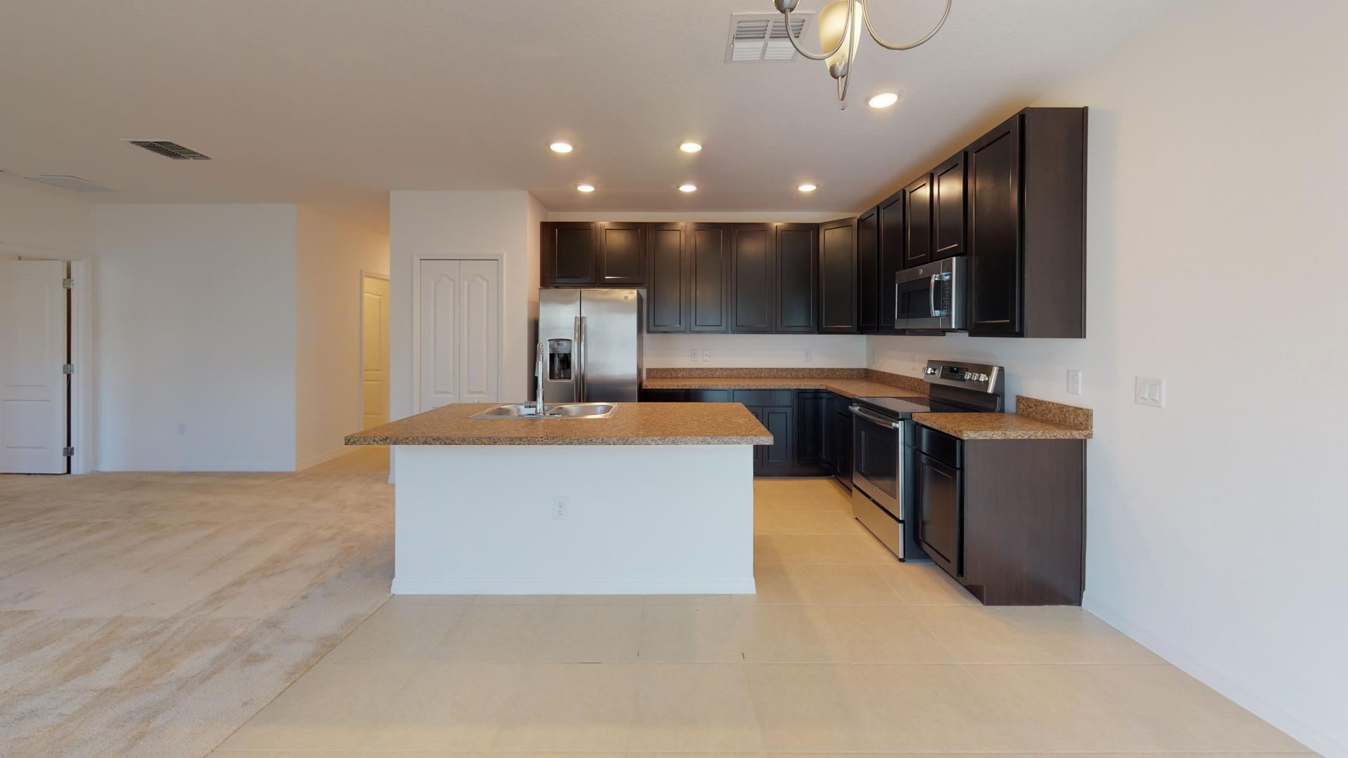 Kitchen featured in the Avella By Maronda Homes in Melbourne, FL