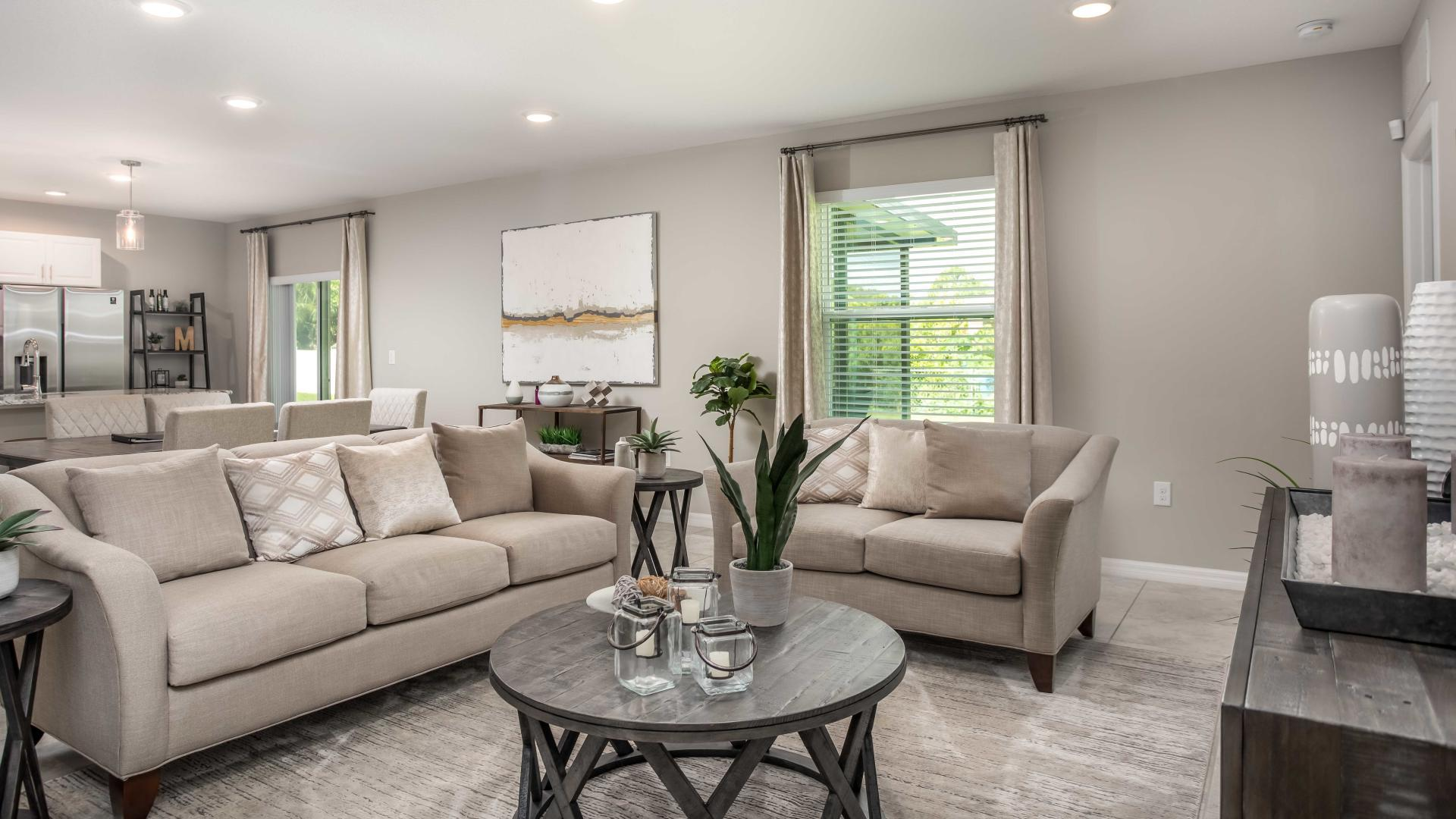 Living Area featured in the Mesquite By Maronda Homes in Melbourne, FL