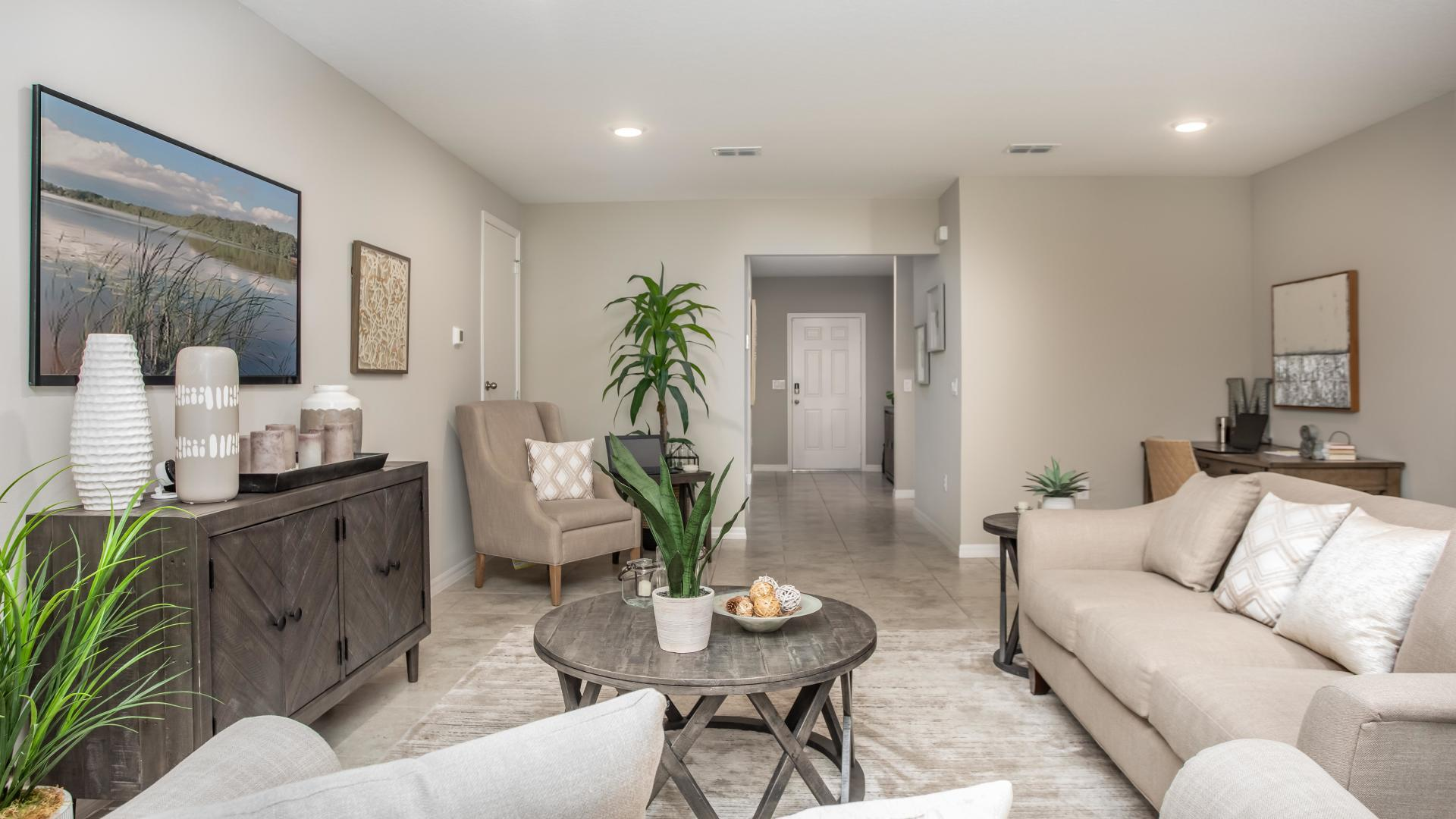 Living Area featured in the Mesquite By Maronda Homes in Daytona Beach, FL