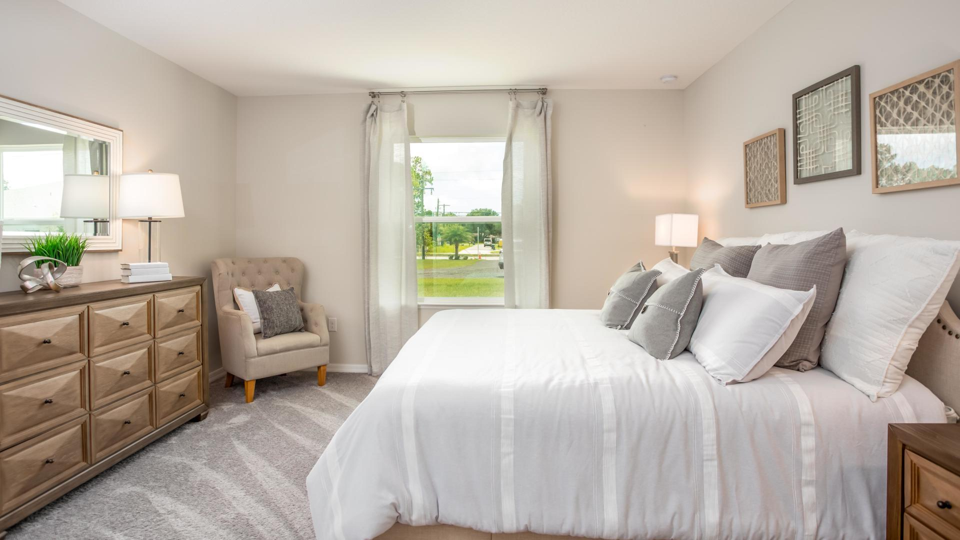 Bedroom featured in the Willow By Maronda Homes in Indian River County, FL