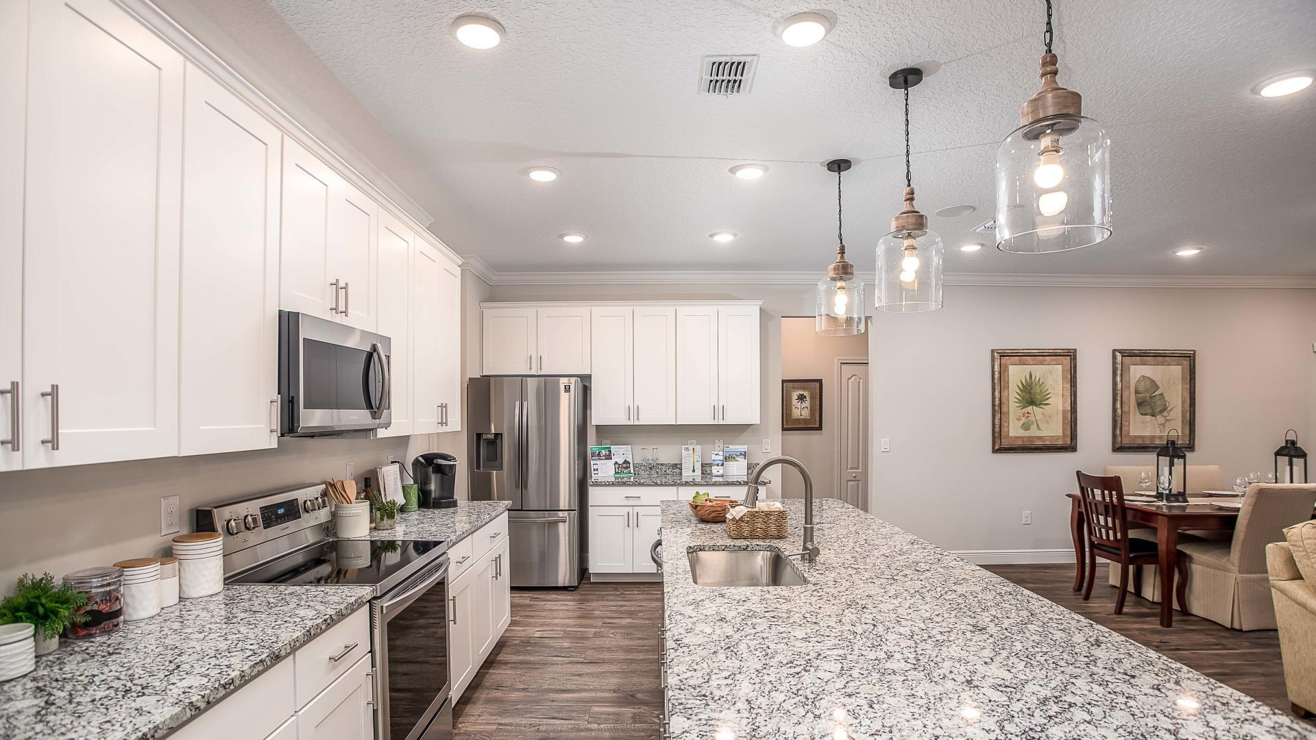 Kitchen featured in the Wilmington By Maronda Homes in Melbourne, FL
