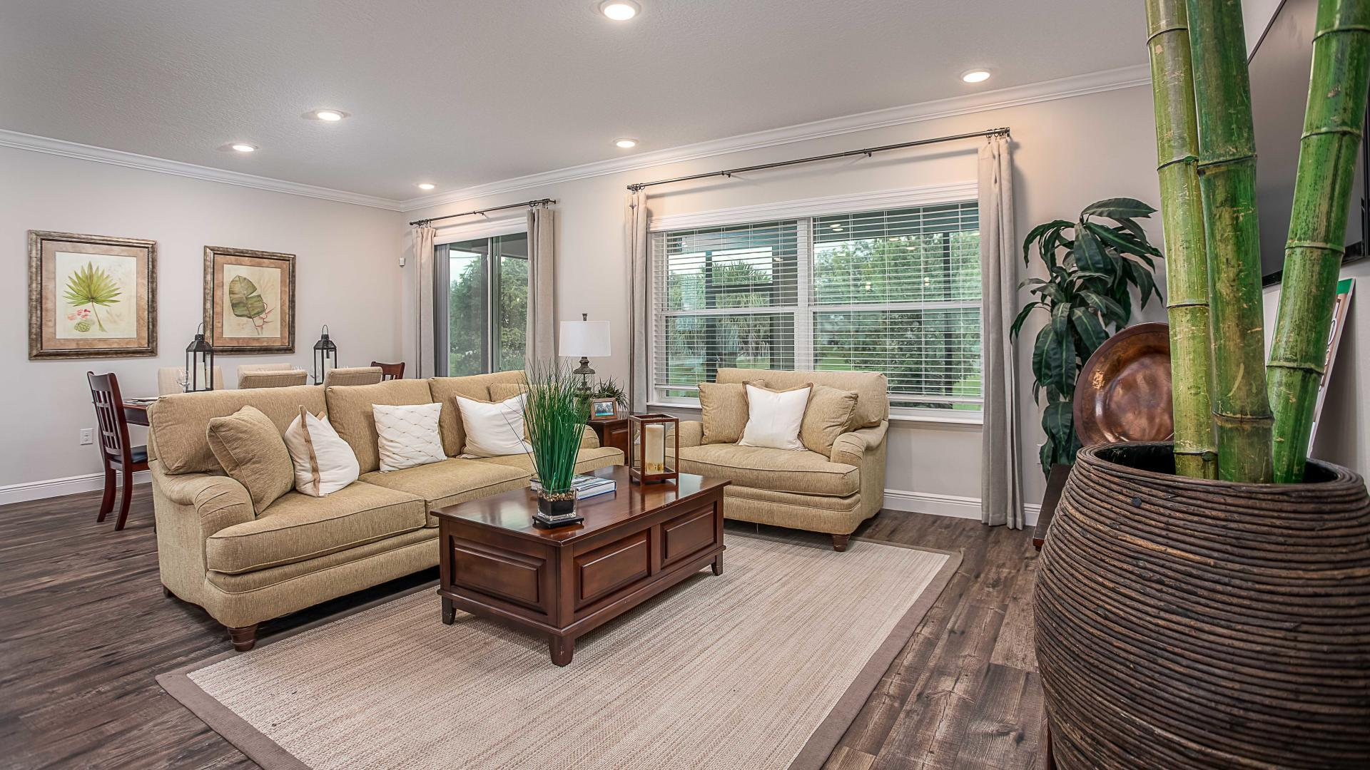Living Area featured in the Wilmington By Maronda Homes in Gainesville, FL
