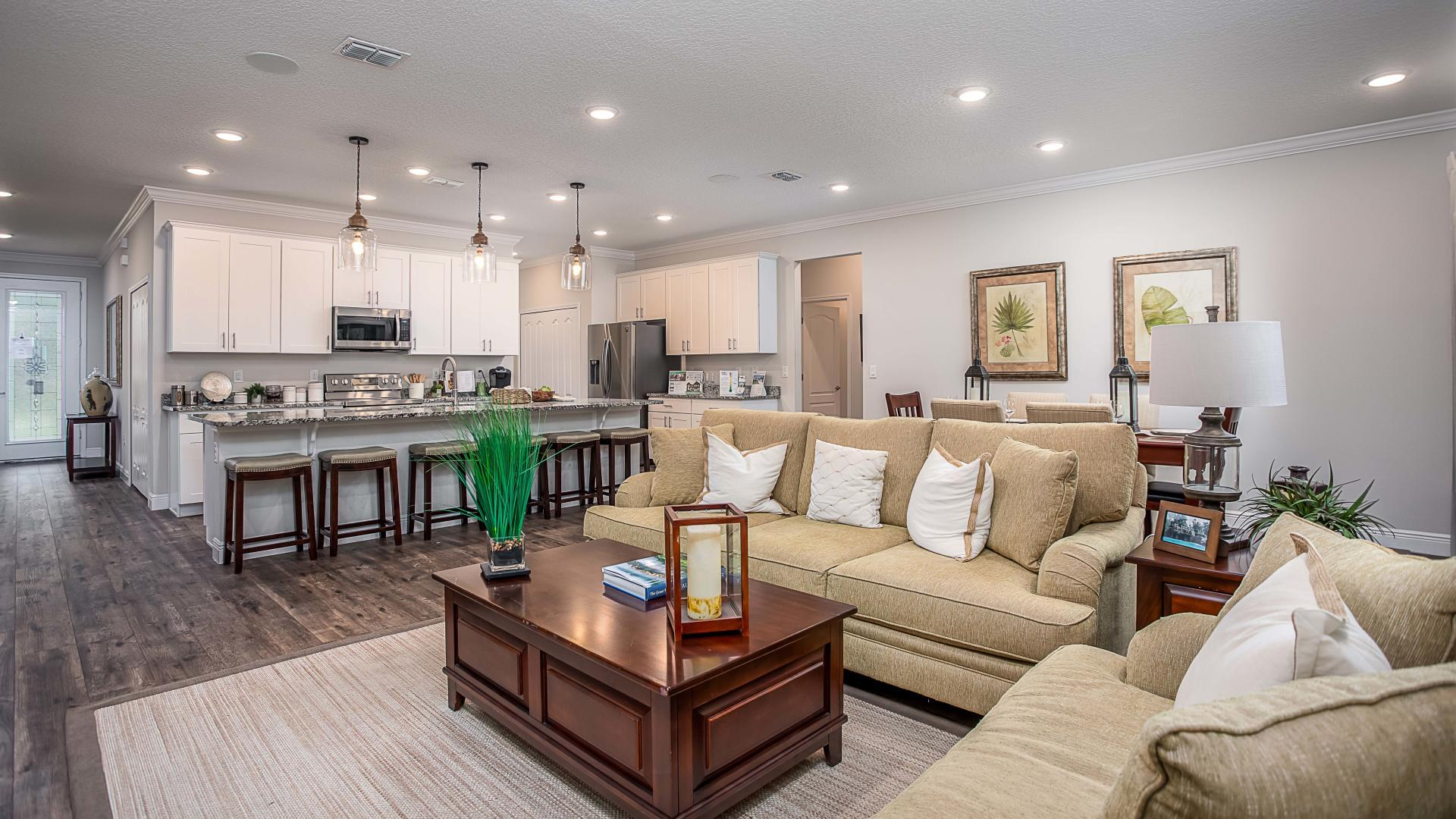 Living Area featured in the Wilmington By Maronda Homes in Melbourne, FL