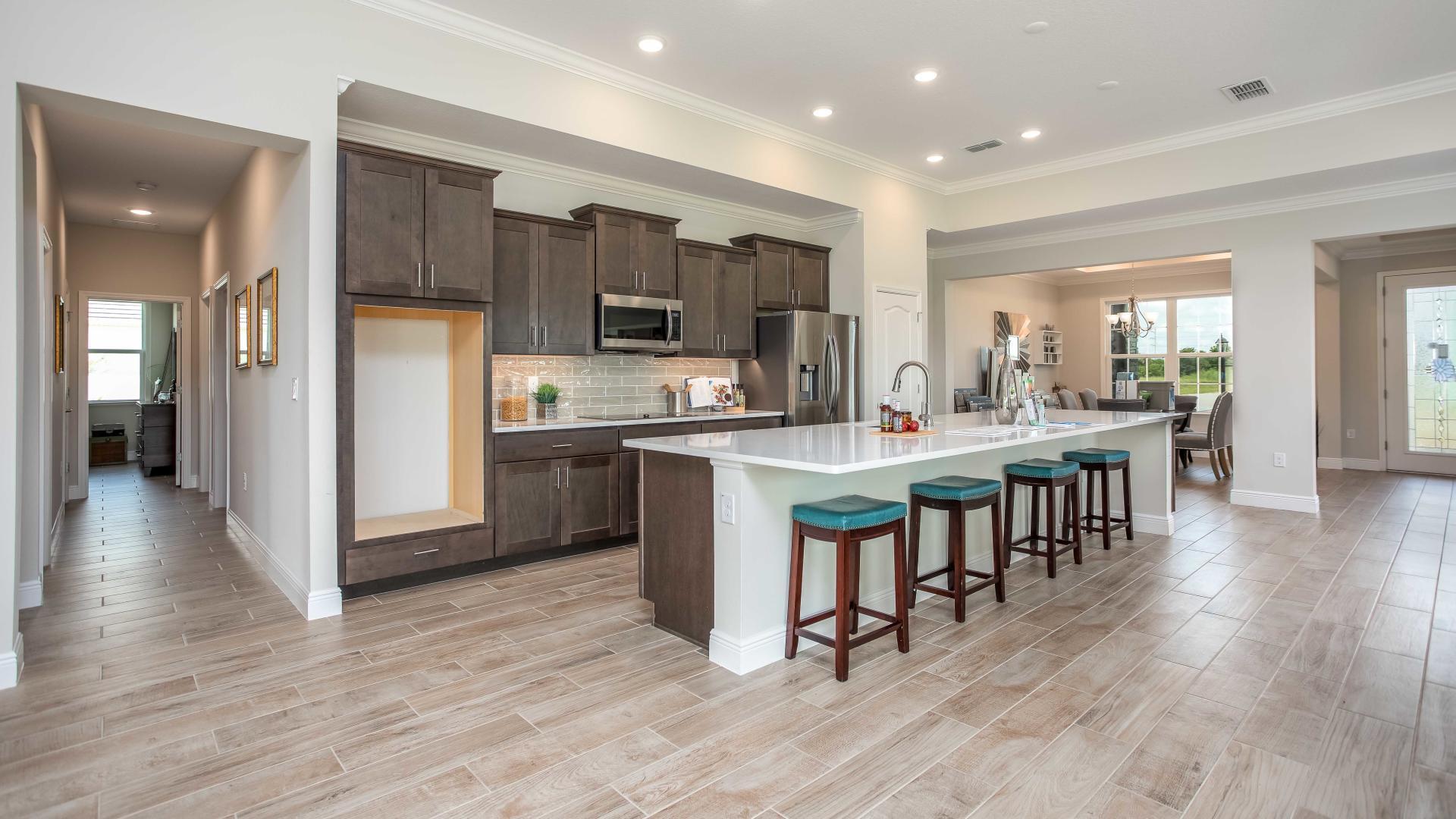 Kitchen featured in the Sienna By Maronda Homes in Daytona Beach, FL