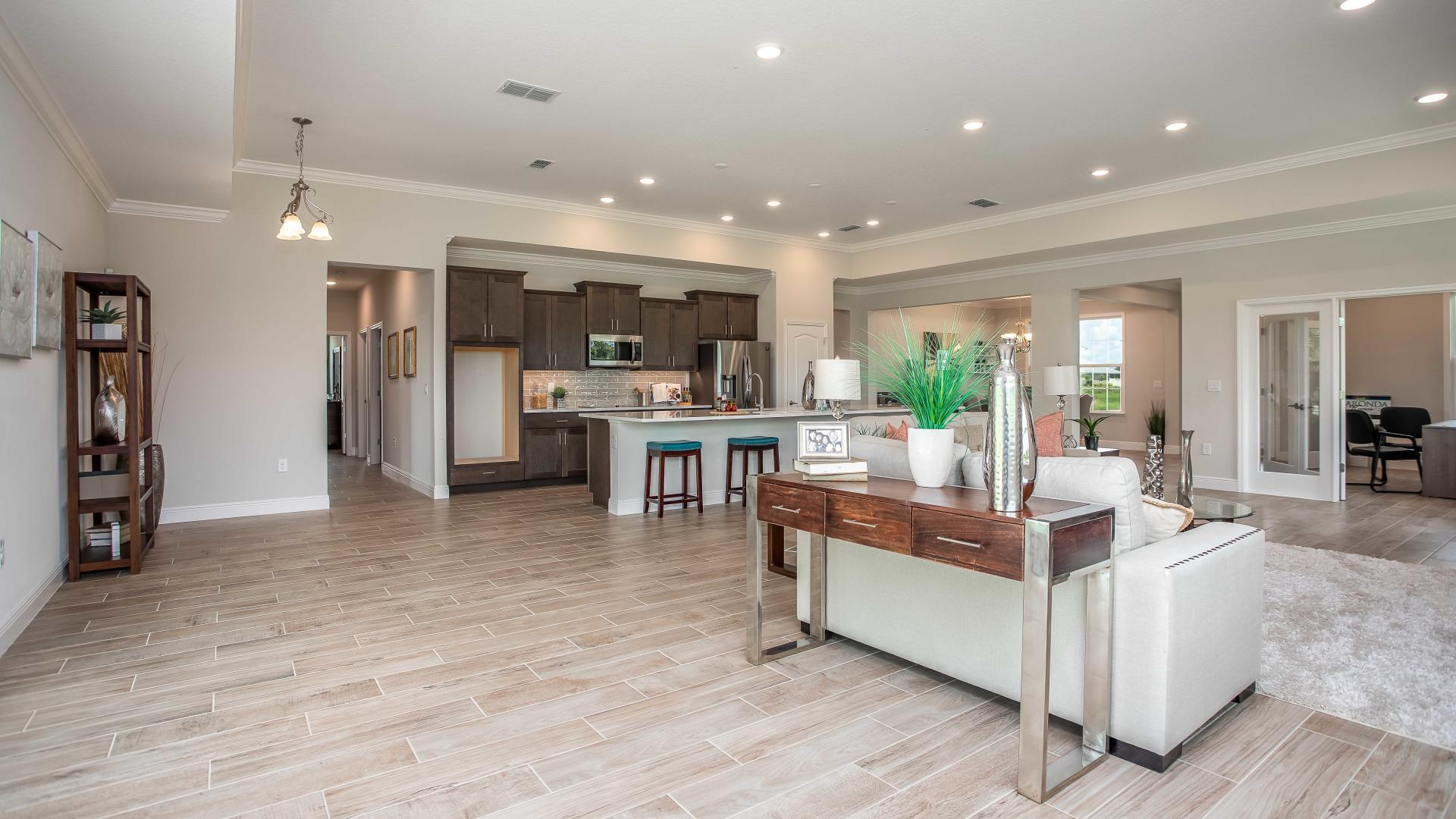 Living Area featured in the Sienna By Maronda Homes in Daytona Beach, FL