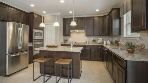 Kitchen-in-Baybury-at-Woodland Waters-in-Brooksville