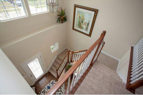 Stairway-in-Ellington-at-Keystone Crossing-in-Marysville