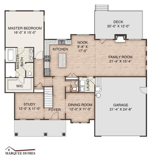 Bedroom featured in the Lot 8 By Marque Homes in Norfolk-Newport News, VA