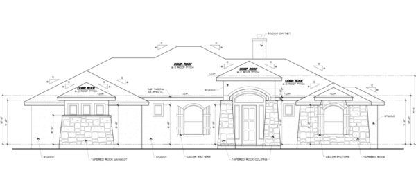 Kitchen featured in the Plan 2118 By Marquis Builders in San Antonio, TX