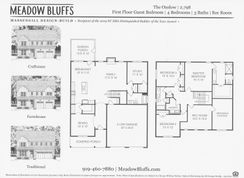 The Onslow - Meadow Bluffs: Fuquay Varina, North Carolina - Meadow Bluffs