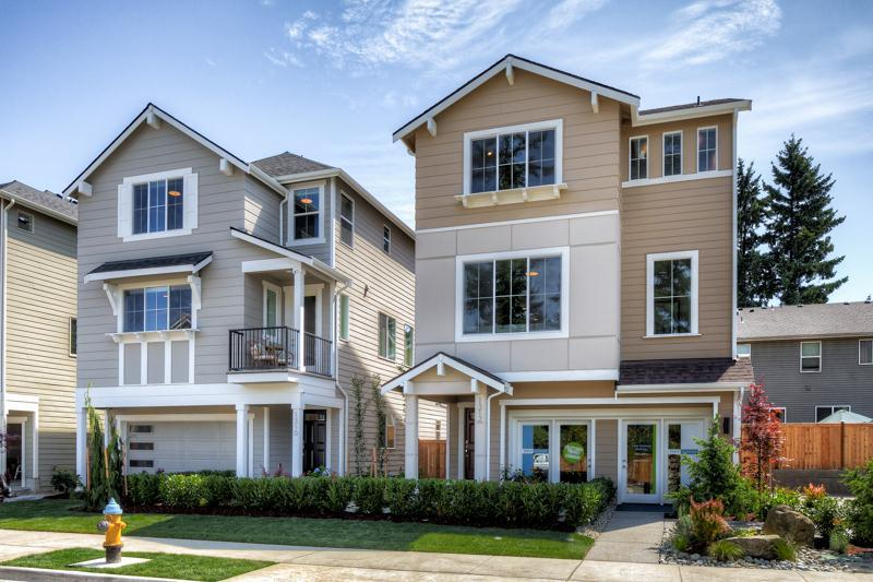 Exterior featured in the 2175 By RM Homes in Seattle-Bellevue, WA