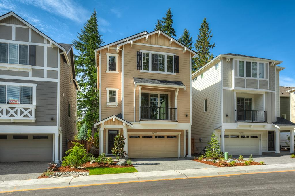 Exterior featured in the 2431 By RM Homes in Seattle-Bellevue, WA