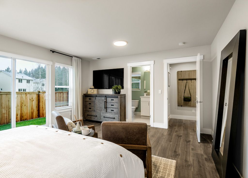 Bedroom featured in the 2418 By RM Homes in Seattle-Bellevue, WA