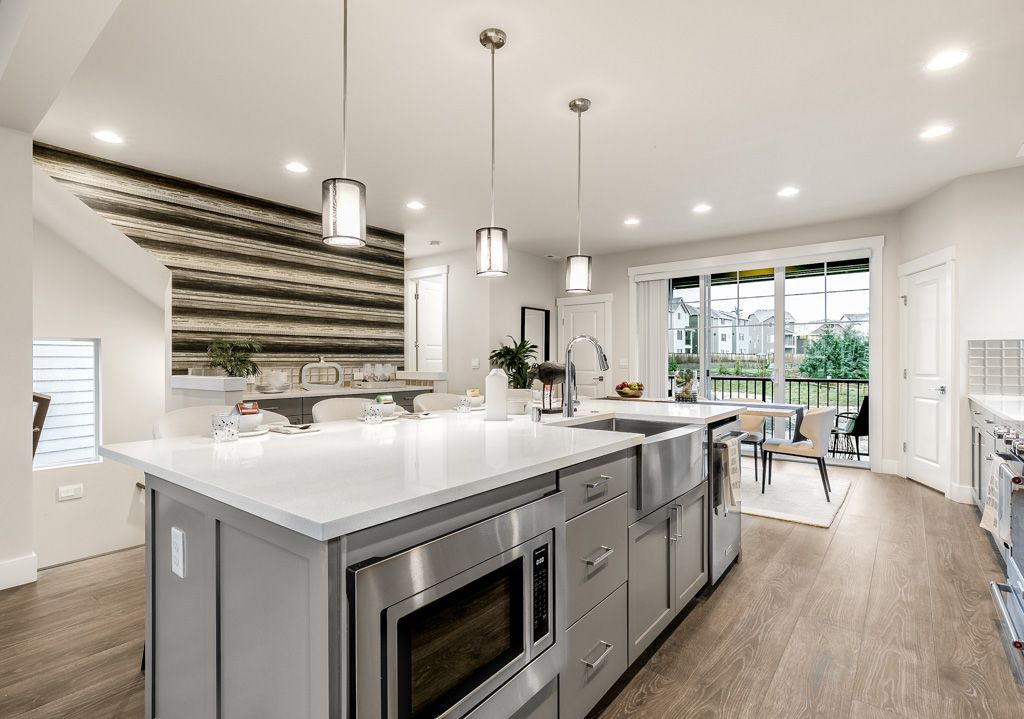 Kitchen featured in the 2431 By RM Homes in Seattle-Bellevue, WA