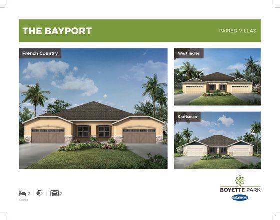 Bayport Villa Riverview Fl In Boyette Park By Mattamy Homes