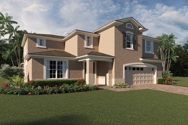 Exterior:Kensington - Florida Traditional