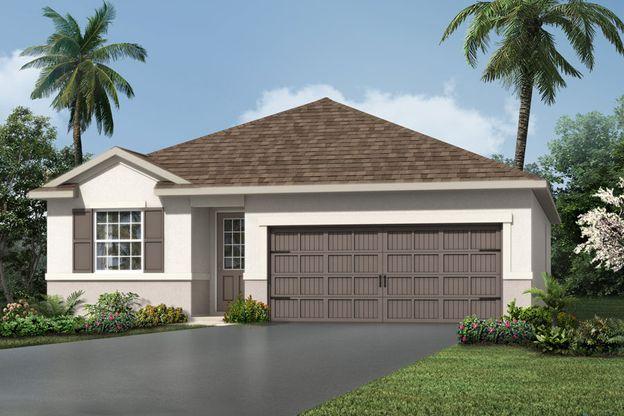 Exterior:Buttonwood - Florida Traditional