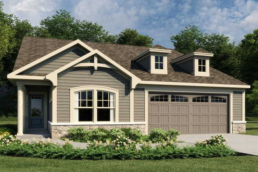 Exterior featured in the Armstrong By Mattamy Homes in Charlotte, SC