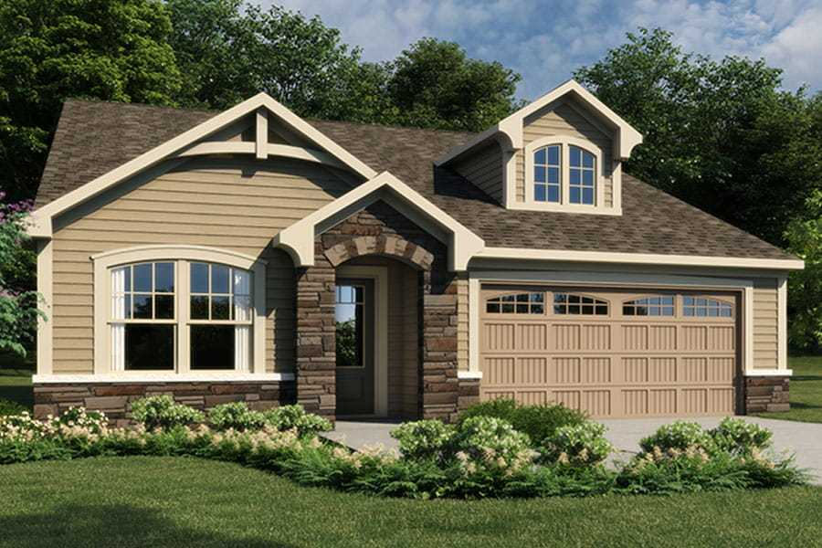 Exterior featured in the Presley By Mattamy Homes in Charlotte, SC