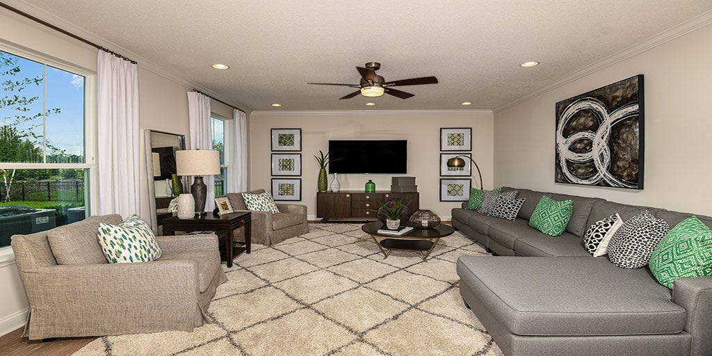 Living Area featured in the Tradewind By Mattamy Homes in Jacksonville-St. Augustine, FL